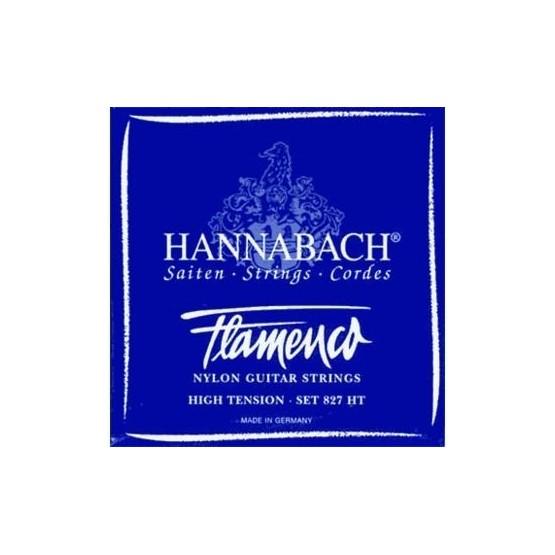 HANNABACH 8275HT 5ª CUERDA GUITARRA FLAMENCA AZUL