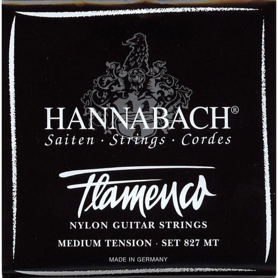 HANNABACH 8275MT 5ª CUERDA GUITARRA FLAMENCA NEGRA