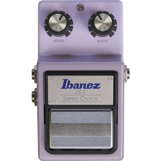 IBANEZ CS9 PEDAL STEREO CHORUS. OUTLET