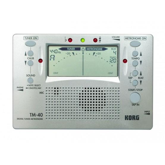 KORG TM40 METRONOMO AFINADOR DIGITAL. OUTLET