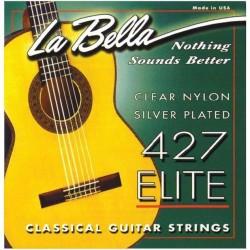 LA BELLA 422 4ª CUERDA GUITARRA ESPAÑOLA BLANCA