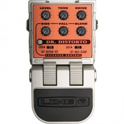 LINE 6 DR DISTORTO PEDAL DISTORSION. OUTLET. DEMO