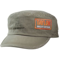 TAYLOR 00401 GORRA MILITAR COLOR OLIVE TALLA UNICA. OUTLET