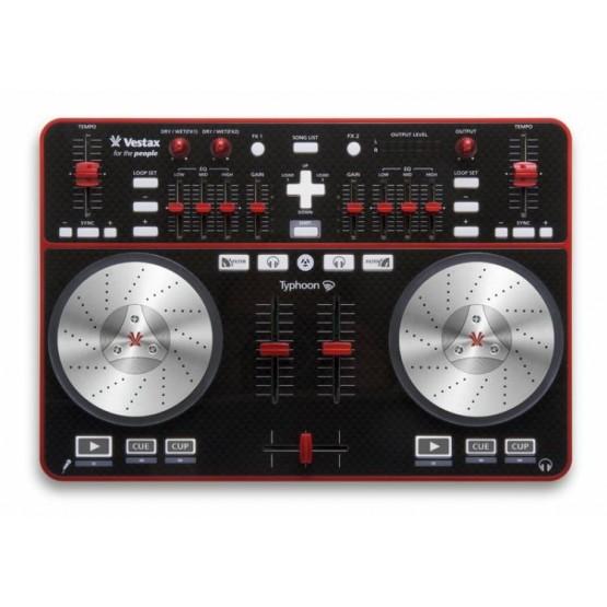 VESTAX TYPHOON CONTROLADOR MIDI AUDIO USB. OUTLET