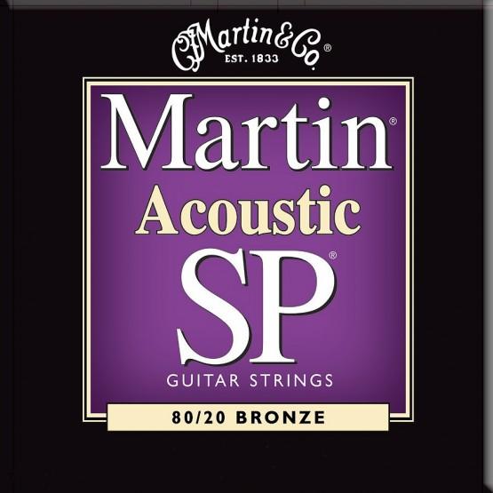 MARTIN SP3050 JUEGO CUERDAS GUITARRA ACUSTICA BRONCE 011 052