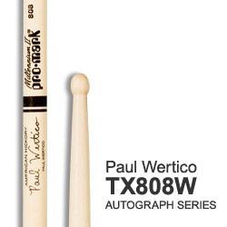 PRO MARK TX808W PAR BAQUETAS PAUL WERTICO HICKORY WOOD