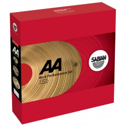 SABIAN AA 25009C ROCK PACK JUEGO PLATOS + CASE. OUTLET