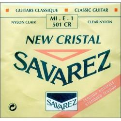 SAVAREZ 501 CR 1ª CUERDA NEW CRISTAL ROJA GUITARRA ESPAÑOLA