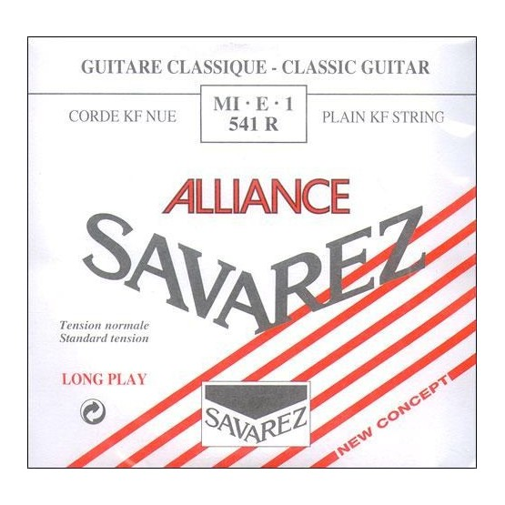 SAVAREZ 541 R 1ª CUERDA ALLIANCE GUITARRA ESPAÑOLA