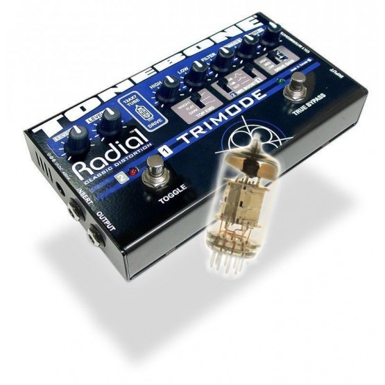 RADIAL TRIMODE PEDAL DE DISTORSION CON VAVULAS