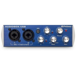 PRESONUS AUDIOBOX USB INTERFAZ AUDIO USB 2X2. DEMO