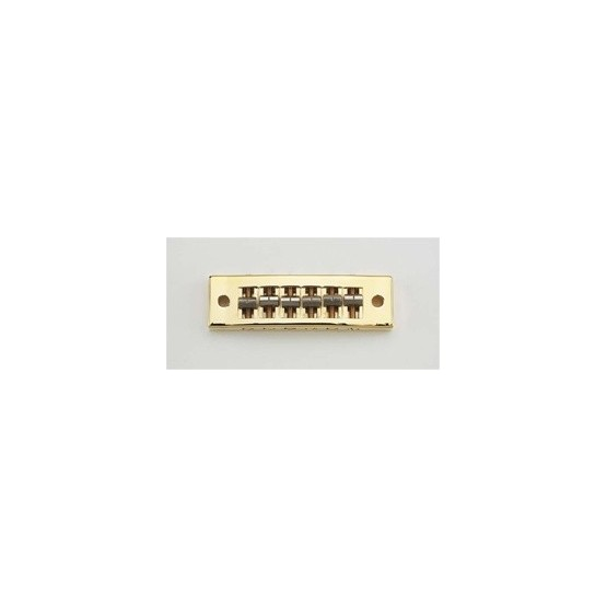 ALL PARTS GB0510002 SG STYLE BRIDGE GOLD WITH HARDWARE