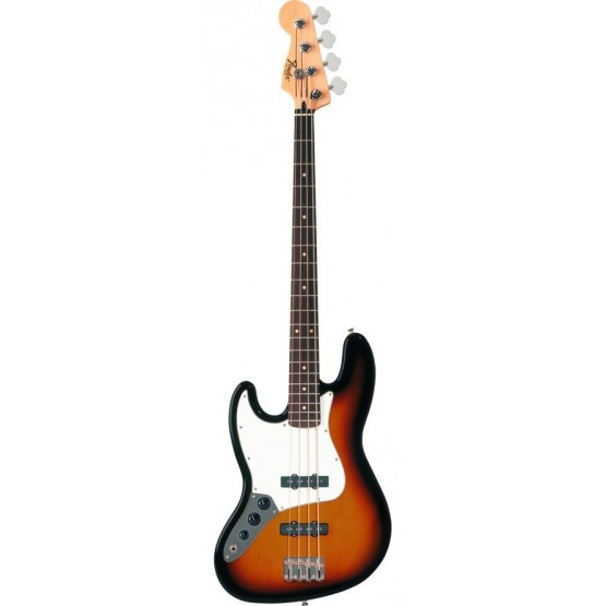 FENDER STANDARD JAZZ BASS LH RW BAJO ELECTRICO ZURDO BROWN SUNBURST