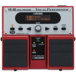 BOSS VE20 TWIN PEDAL VOCAL