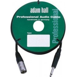 ADAM HALL KM3MP2BLK CABLE DE MICROFONO CON CONECTOR NEUTRIK 3 M NEGRO. OUTLET