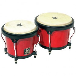 LATIN PERCUSSION LPA601RW BONGOS RED WOOD