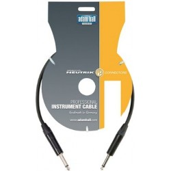 ADAM HALL KI3PP2BLK CABLE NEGRO JACK-JACK NEUTRIK 3 METROS. OUTLET