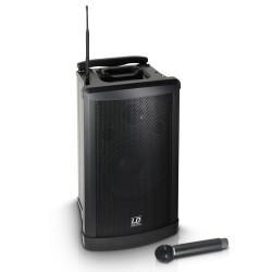 LD SYSTEMS ROADMAN102 EQUIPO PA PORTATIL CON MICROFONO INALAMBRICO DE MANO Y LECTOR DE CD/MP3