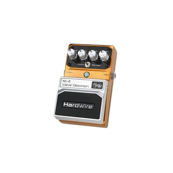 HARDWIRE SC2 PEDAL VALVE DISTORTION
