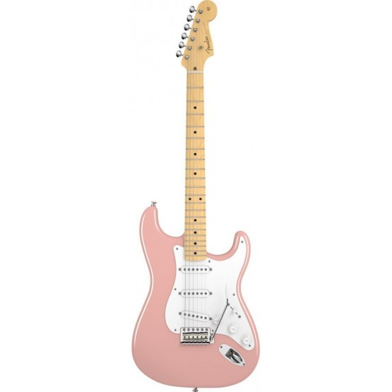FENDER AMERICAN VINTAGE 56 STRATOCASTER MN GUITARRA ELECTRICA SHELL PINK