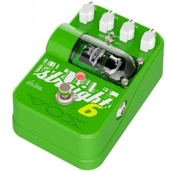 VOX STRAIGHT 6 DRIVE TONE GARAGE PEDAL OVERDRIVE GUITARRA