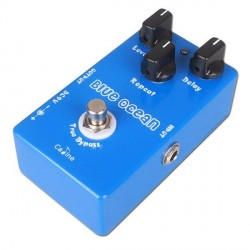 CALINE CP19 BLUE OCEAN PEDAL DELAY ANALOGICO/DIGITAL GUITARRA