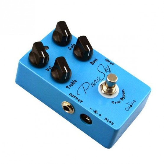 CALINE CP12 PURE SKY PEDAL OVERDRIVE BOOSTER GUITARRA