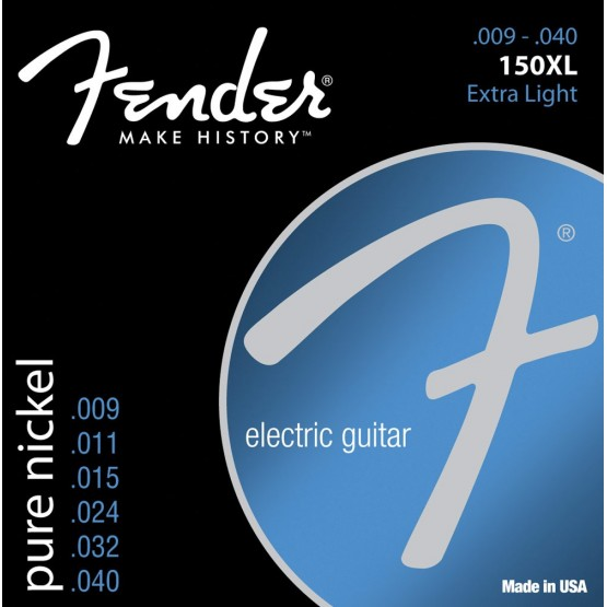 FENDER 0730150402 150XL PURE NICKEL BALL END JUEGO CUERDAS ELECTRICA 009040
