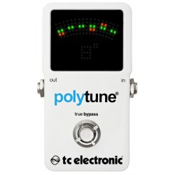 TC ELECTRONIC POLYTUNE2 PEDAL AFINADOR CROMATICO. OUTLET
