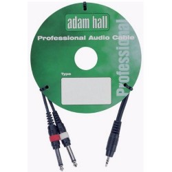 ADAM HALL KP6PPM235Y 1XMINI JACK / 2XJACK MONO - 6 METROS. OUTLET