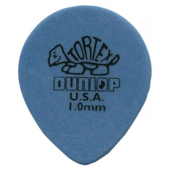 DUNLOP 413R TORTEX TEAR DROP CALIBRE 1'00