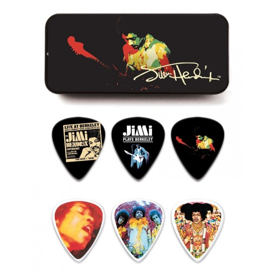DUNLOP JHPTR04H ESTUCHE METAL 12 PUAS HEAVY JIMI HENDRIX BAND OF GYPSIES
