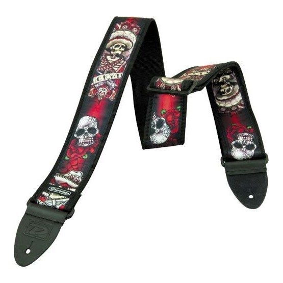 DUNLOP D3821 LUCKY 13 DAY OF THE DEAD TERMINACION EN PIEL