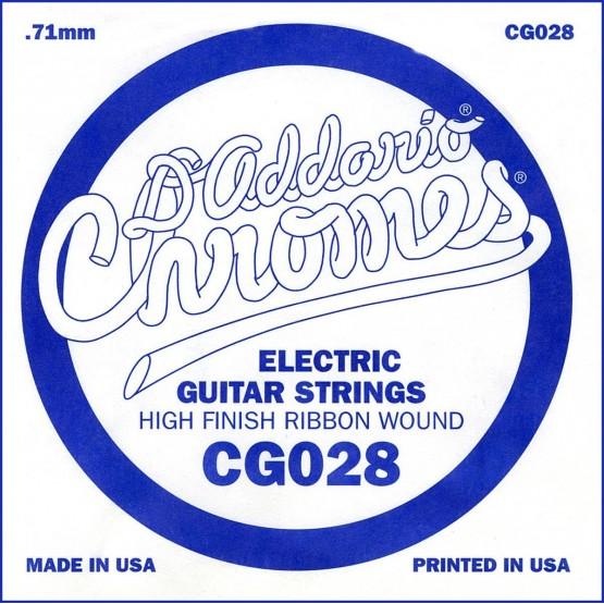 D'ADDARIO CG028 CUERDA GUITARRA ELECTRICA