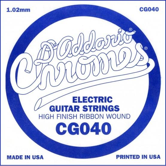 D'ADDARIO CG040 CUERDA GUITARRA ELECTRICA