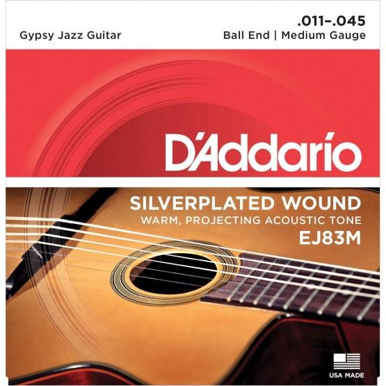 D'ADDARIO EJ83M JAZZ JUEGO CUERDAS GUITARRA ACUSTICA 011-045