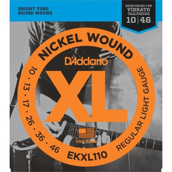 D'ADDARIO EKXL110 JUEGO CUERDAS GUITARRA ELECTRICA 010-046