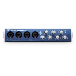 PRESONUS AUDIOBOX AB44 VSL INTERFAZ DE AUDIO USB. DEMO