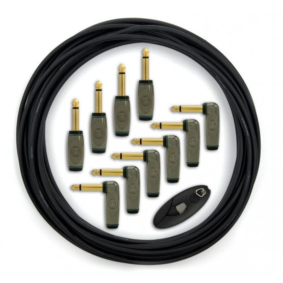 PLANET WAVES GPKIT10 CABLE PATCH PEDALES