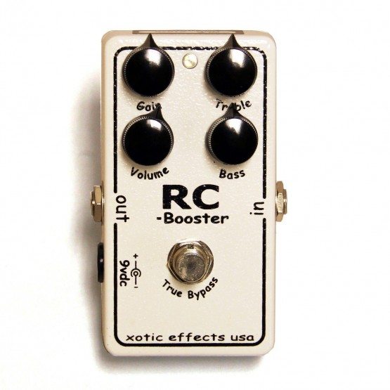XOTIC RC BOOSTER PEDAL. OUTLET