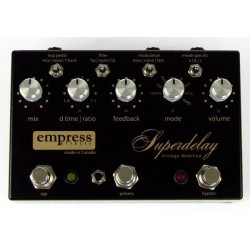 EMPRESS SUPERDELAY VINTAGE MODIFIED PEDAL DELAY. OUTLET