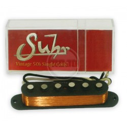 SUHR ML STANDARD BRIDGE PASTILLA SIMPLE BLANCA