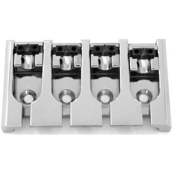 ABM BB3420010 BASS BRIDGE, LOCK-DOWN SADDLES, CHROME, ADJUSTABLE SPACING 2-18 TO 2-5/16