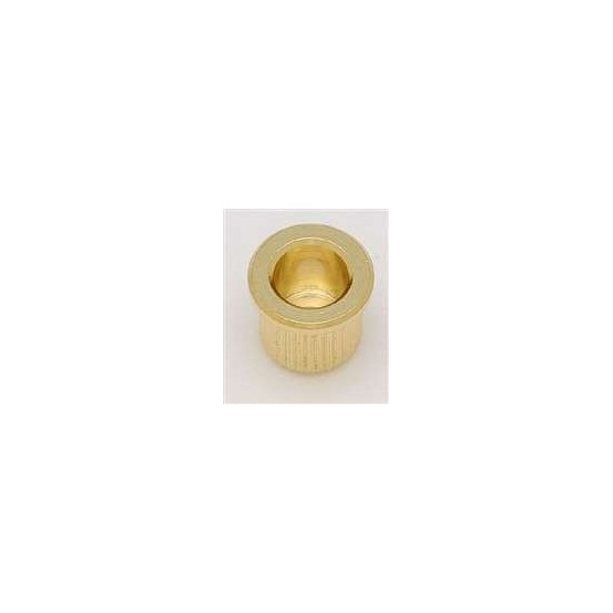 ALL PARTS AP0087002 STRING FERRULES (6 PIECES) FOR GUITAR, WITH LIP, GOLD, 5/16