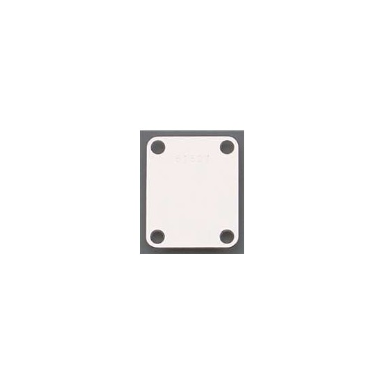 ALL PARTS AP0601010 NECK PLATE, STEEL, 4 HOLE, WITH SERIAL NUMBER CHROME