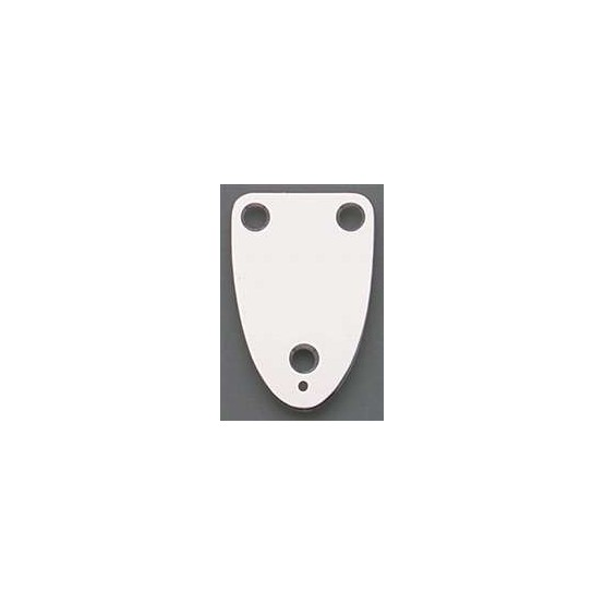 ALL PARTS AP0605010 NECK PLATE, 3 HOLE, FOR GUITAR, CHROME