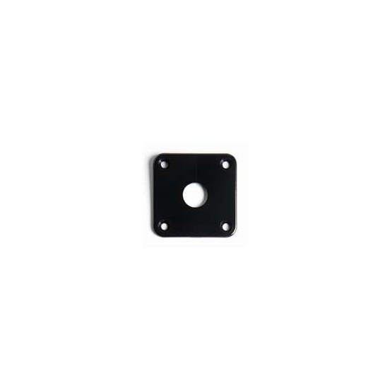 ALL PARTS AP0633023 JACKPLATE FOR LES PAUL BLACK PLASTIC