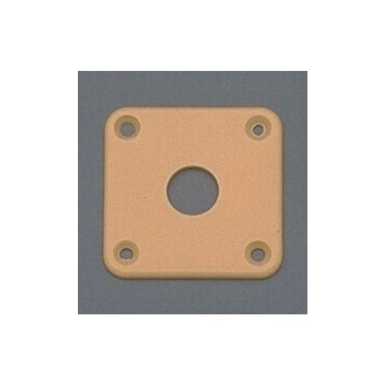 ALL PARTS AP0633028 JACKPLATE FOR LES PAUL CREAM PLASTIC