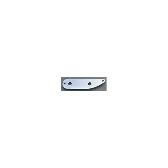 ALL PARTS AP0657010 CONTROL PLATE FOR TELE BASS, CHROME