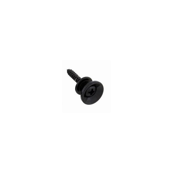 ALL PARTS AP0670003 STRAP BUTTONS WITH SCREWS, BLACK. UNIDAD